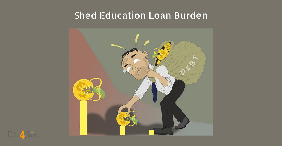 Shed-Education-Loan-Burden-Edu4Sure