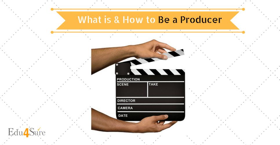 Choose Career as Producer