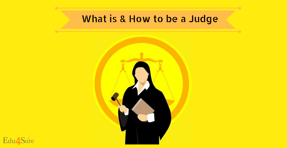 how to choose career as Judge