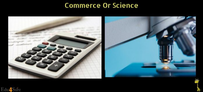 Commerce-Science-Stream-Choice