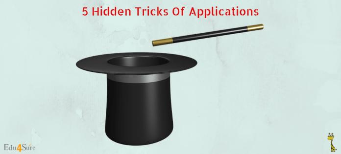 Hidden-Tricks-Application