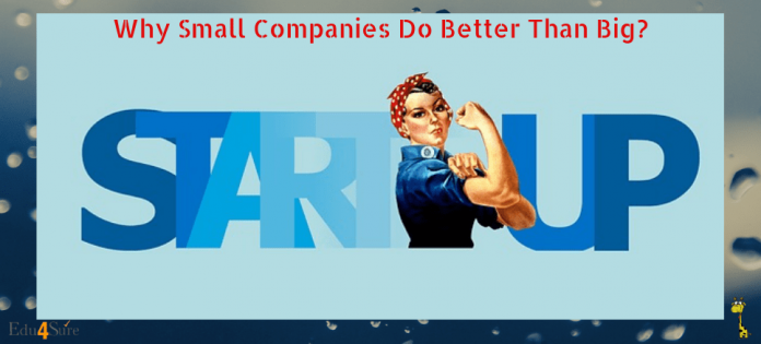Small-Companies-Better-Than-Big-Edu4Sure