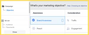 Marketing Objective