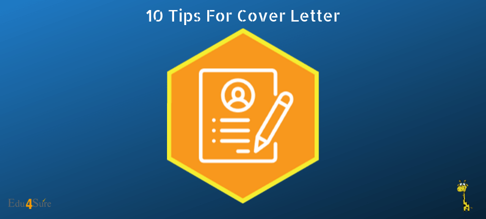 10 Tips For Cover Letter