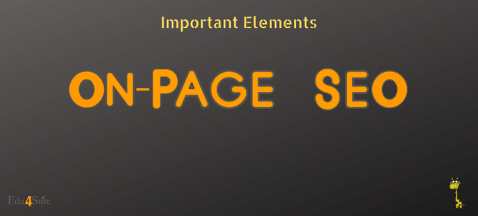 Important On Page SEO Elements