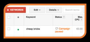 Ad-campaign-paused-keyword