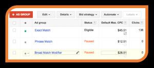 Adgroup-Exact-Match