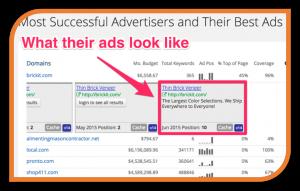 Advertiser-history